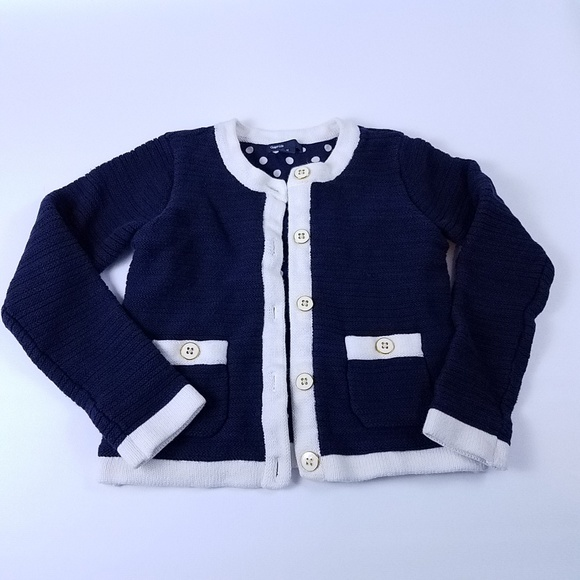 2f45e8264f8 Gap Kids Button Up Sweater Royal Blue Size Medium